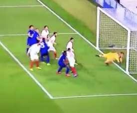 Primeiro gol de um jamaicano na Liga dos Campeões. Twitter/A3