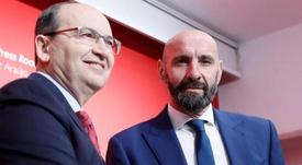 La ambición de Monchi, ganar la Liga. EFE