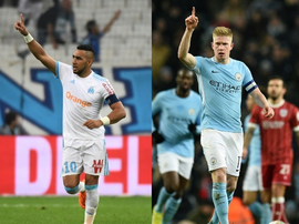 Payet and De Bruyne make up the top two spots. BeSoccer/AFP
