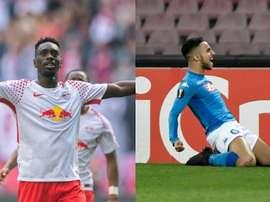 Augustin et Ounas devrait rejoindre Nice. AFP
