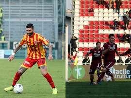 Cittadella y Benevento son dos de los equipos punteros de la Serie B. Benevento/Cittadella