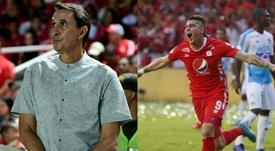 Guimaraes y Rangel, los héroes del América. AméricadeCali/EFE
