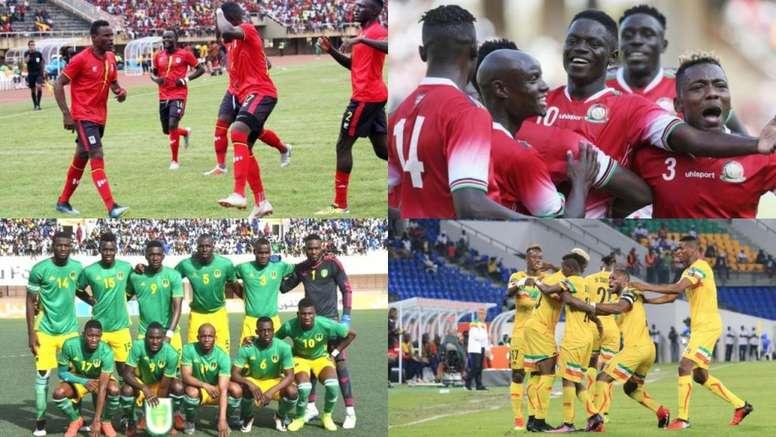 La Copa África ya conoce sus 24 integrantes. AFP