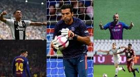 Ha habido sonados trasvases de jugadores en la Champions. AFP