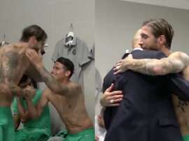 400 wins for Ramos. Screenshot/RealMadridTV