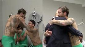 Ramos a fêté sa 400ème victoire avec le Real Madrid. Captures/RealMadridTV