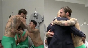 400 wins for Ramos. Screenshot/RealMadridTV