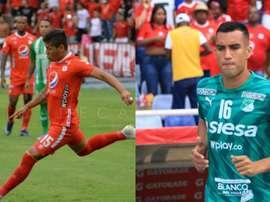 Sigue los directos de América-Santa Fe y Deportivo Cali-Alianza. America/DeportivoCali