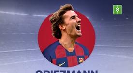 Antoine Griezmann signe au FC Barcelone. BeSoccer