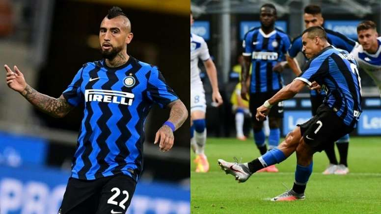 Vidal et Sanchez en quarantaine. AFP