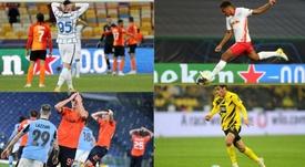 Así les ha ido en Champions a 10 jóvenes talentos del fútbol europeo. EFE - AFP