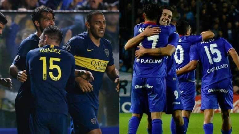 Boca Juniors y Tigre, finalistas de la Copa de la Superliga. EFE/Tigre