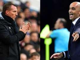 Rodgers et Martínez ont dit non à Arsenal. AFP