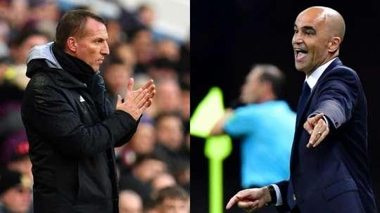 Rodgers and Martinez said no to Arsenal. AFP