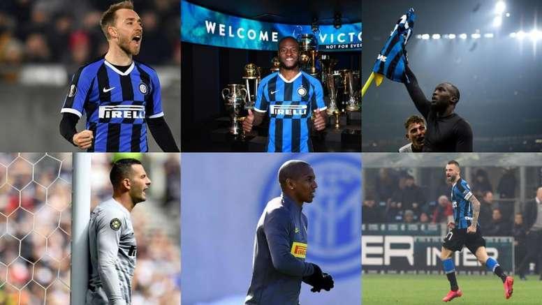 Varios jugadores del Inter regresan a sus hogares tras la cuarentena. EFE/Inter