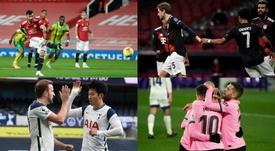 El 'top ten' de jugadores que generan más gol y peligro en Europa. AFP