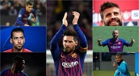 El futuro del Barça, futbolista por futbolista. AFP/EFE/BeSoccer