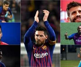Il futuro del Barça, uomo per uomo. AFP/EFE/BeSoccer
