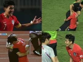 El hombre más feliz de Corea del Sur. Capturas/SBS