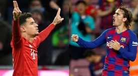 Coutinho and Griezmann, targets for the new Newcastle. AFP - EFE