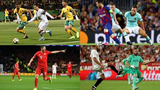 The other stars behind Cristiano's 700 goal record. EFE-AFP
