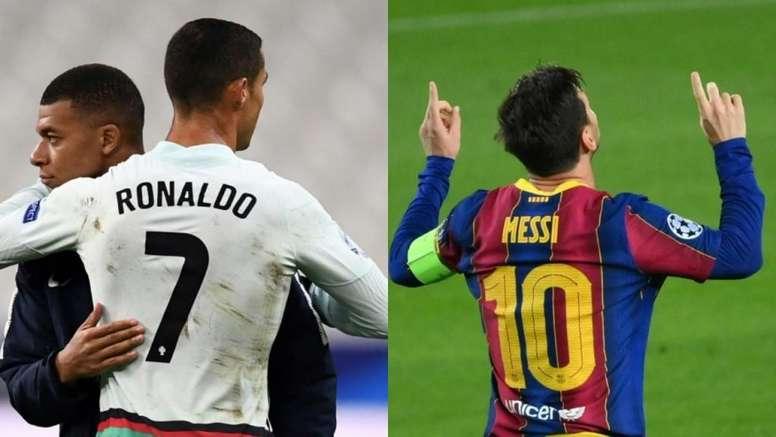 ¿Quién lleva más 'hat tricks': Cristiano Ronaldo o Messi? AFP - EFE