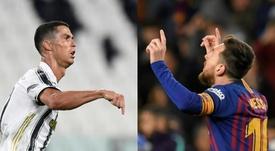 ¿Quién lleva más pókers y repókers: Cristiano o Messi? AFP - EFE