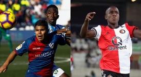 Colombia Sub 20 podrá contar con dos de sus mejores goleadores. LaLiga/AFP
