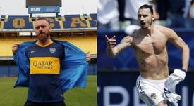 A Fiorentina sonha em contratar Daniele De Rossi e Zlatan Ibrahimovic. EFE