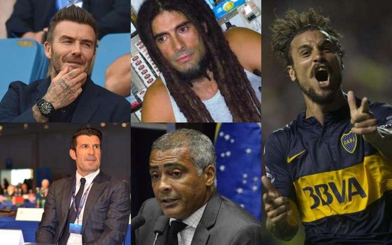 Los ex jugadores con los trabajos más sorprendentes. EFE/AFP