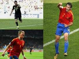 Todos son historia de la Selección Española. EFE/Archivo