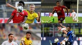 Davies, Haaland, Greenwood, Jadon Sancho e Kulusevski estão entre os dez jovens mais valiosos. AFP