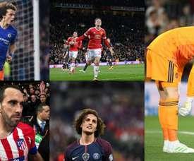 15 joueurs dont le contrat expire en 2019. BeSoccer