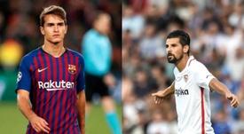 Le doux rêve du Celta : réunir Denis Suárez et Nolito. EFE