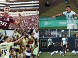 Dez futuras estrelas que jogarão o Pré-olímpico. EFE/LAGalaxy