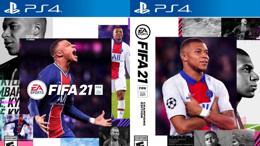 Kylian Mbappe on front cover of FIFA 2021 - BeSoccer