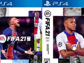 Mbappe has been chosen by EA Sports. EA Sports