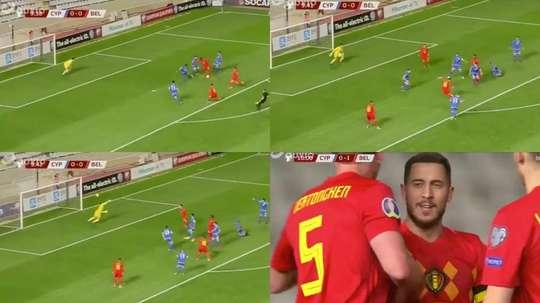 Eden Hazard showed the quality player he is. Capturas/launedirect