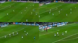 Mbappé dio los tres puntos al PSG. Capturas/Canal+