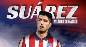 Suárez has moved to Atlético. BeSoccer