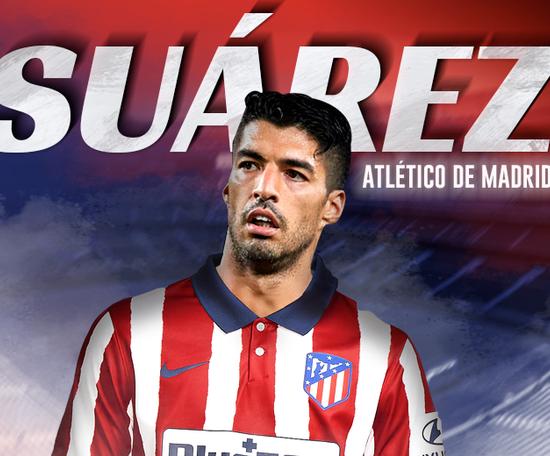Suárez has moved to Atlético. BeSoccer