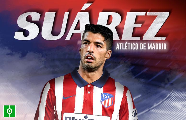 OFICIAL: el Atlético de Madrid ficha a Luis Suárez. BeSoccer