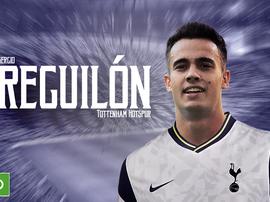 Reguilón é o mais novo jogador do Tottenham. BeSoccer