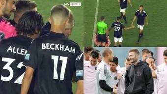 El objetivo de Romeo Beckham es jugar en el Inter de Miami. Captura/SkySports/AFP