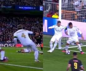 Il Real Madrid si salva. LigadeCampeones