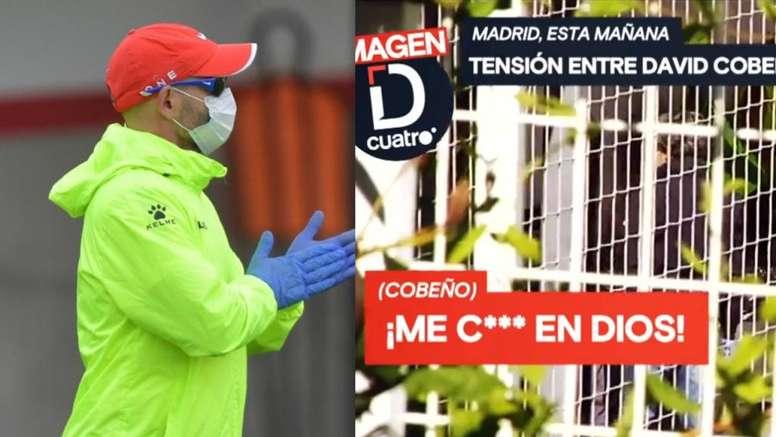 Tensión en Vallecas por el ERTE. EFE/RayoVallecano/DeportesCuatro