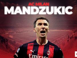 Mario Mandzukic has signed for AC Milan. BeSoccer