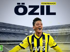 OFFICIEL : Mesut Özil enfin un joueur du Fenerbahçe. besoccer