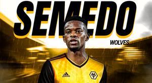 Semedo é o mais novo jogador dos Wolves. BeSoccer