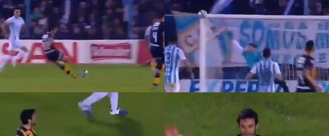 Ciro Rius marcó uno de los goles de la jornada. Capturas/FOXSports